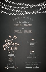 Luxury wedding invitations and announcements templates designs ultra thick flat wedding invitation 6x9 stopboris Images