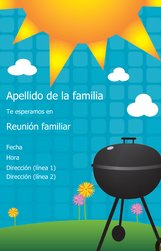 Diseños De Invitaciones Reunión Familiar Vistaprint