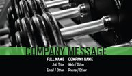 Personal Training Business Cards Template