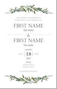 Wedding Invitation Template.Wedding Invitations Templates Designs Vistaprint