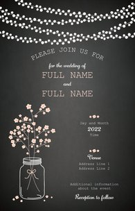 Wedding Invitations Vistaprint.Floral Wedding Invitations Templates Designs Vistaprint
