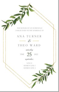 Wedding Invitations Templates Designs