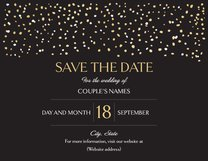 Save the Date Cards Templates & Designs | Vistaprint