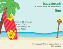 Diseños De Invitaciones Playa Y Piscina Vistaprint