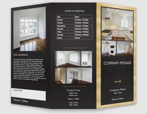 Real estate brochures templates designs vistaprint for Vistaprint brochure template