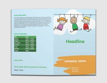 vistaprint brochure template - elementary schools brochures templates designs vistaprint