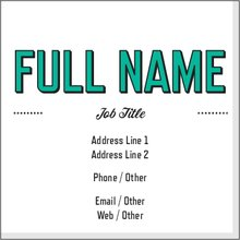 networking cards square business cards templates designs vistaprint
