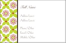 Emergency Contact Cards Personal Business Templates Designs