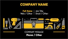 Handyman standard business cards templates designs vistaprint 3 colourmoves
