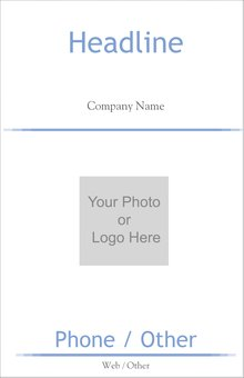 Business Services Foam Boards Template