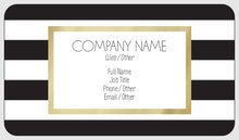 Rounded Corner Business Cards Template