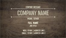 Handyman standard business cards templates designs vistaprint upload it reheart Image collections