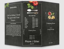 menus templates designs vistaprint
