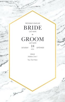 Wedding Programs Templates & Designs | Vistaprint