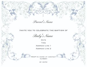 Invitations and Announcement