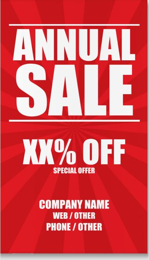 Sale Banners: Create Offer Banners Online | Vistaprint