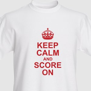 Keep Calm T Shirt Vistaprint