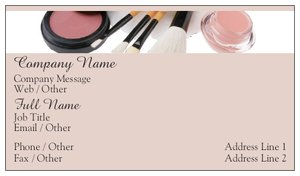 Makeup Artist Business Cards Vistaprint