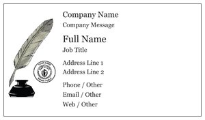 Notary Business Cards