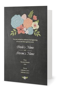 Chalkboard Wedding Invitations Vistaprint