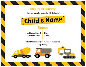 kids party invitations vistaprint