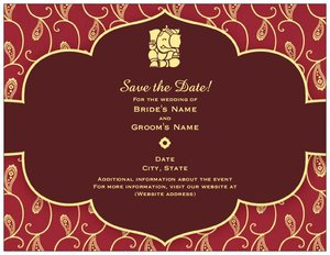 indian wedding invitation cards vistaprint