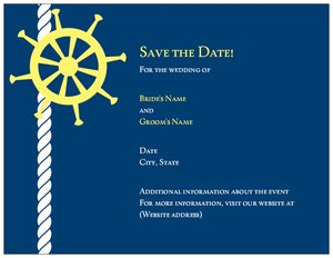 nautical wedding invitations vistaprint