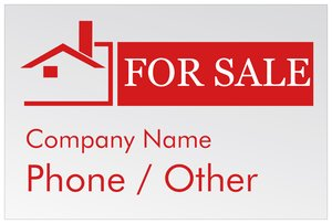 house for sale signs vistaprint