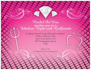cheap bachelorette party invitations vistaprint