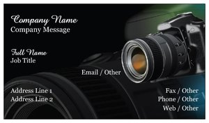 Business Cards For Photographers Vistaprint