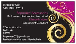 Paparazzi Accessories - Paparazzi business card template