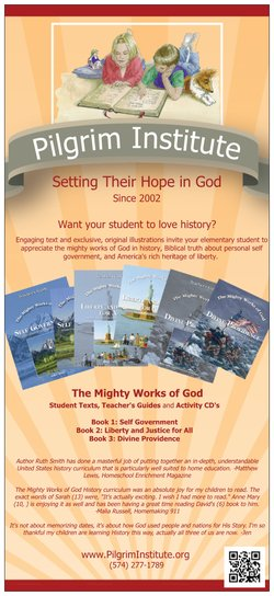 The Mighty Works of God a providential history series for children