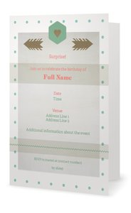 surprise party invitations -