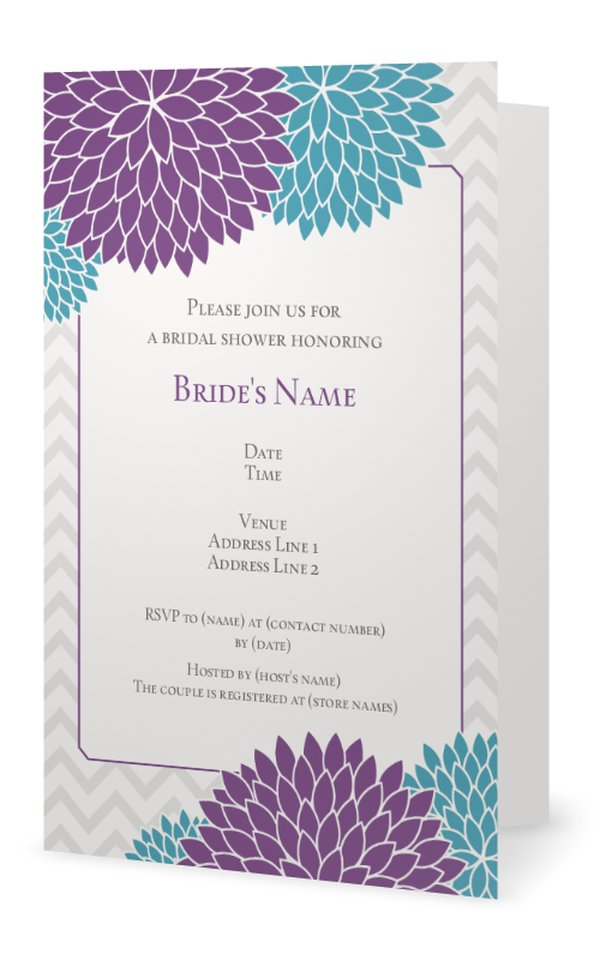 baby shower invitations customize your chevron baby shower invitations