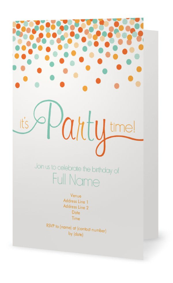 Personalized Stickers For Party Favors - Child Birthday