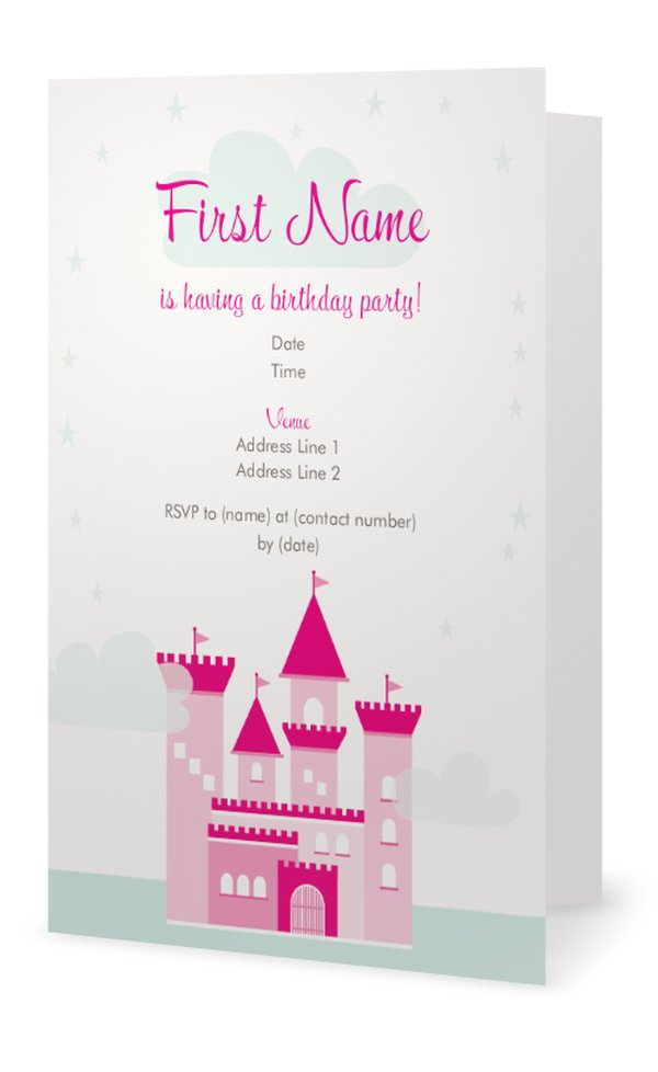 baby shower invitations customize your princess baby shower