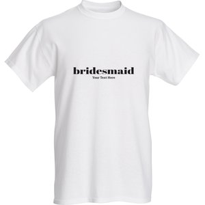 Personalised hen do tshirts - Wedding