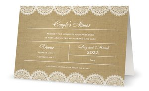 DIY wedding invitations - Wedding Invitations