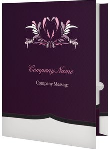Conference Event Program Folders - Elegant
