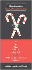 holiday party invitations - New Year
