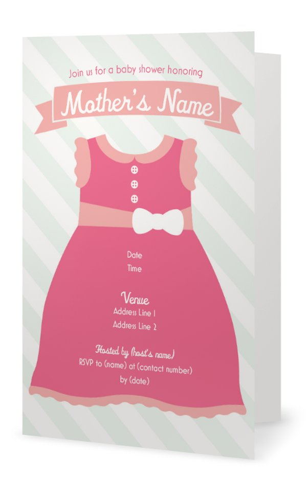 baby shower invitations girl check out our 8 designs for baby shower