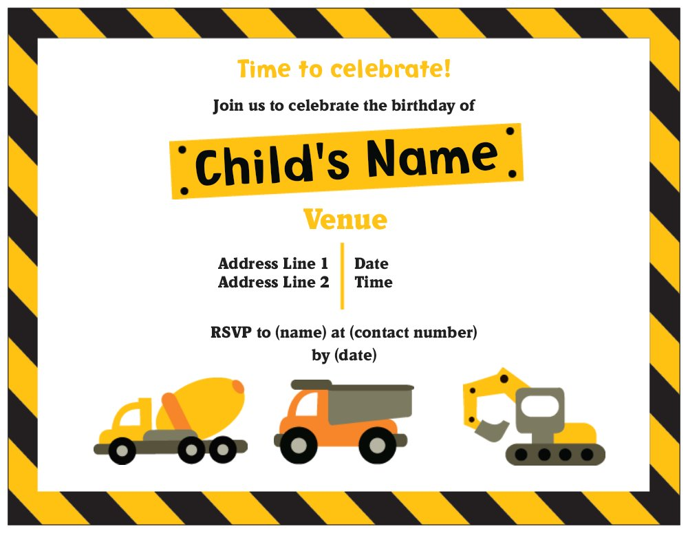 Free Downloadable Invitation Templates for great invitations sample