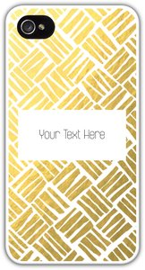 iphone 5s gold case - Geometric & Borders