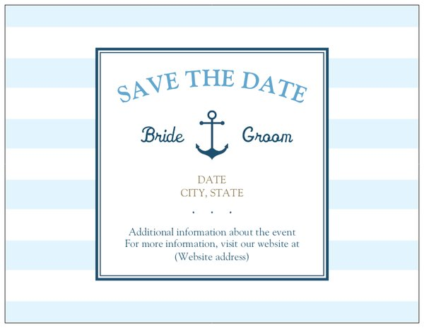 nautical baby shower invitations save the date