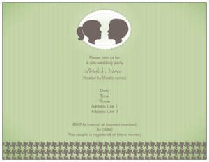 couples wedding shower invitations - Generic Style Design