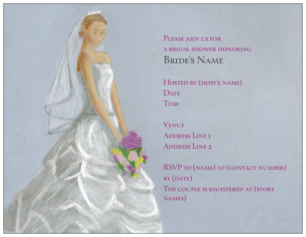 Vista Print Bridal Shower Invitations correctly perfect ideas for your invitation layout
