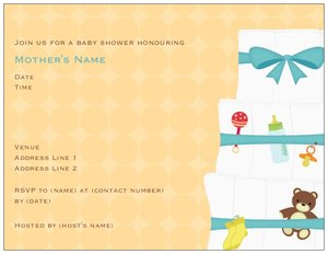 diaper baby shower invitations - Baby Shower