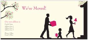 we ve moved cards - Moving Announcements