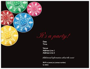 fiesta invitations - Theme Parties