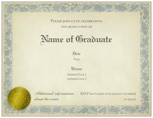 college graduation announcements - Graduation